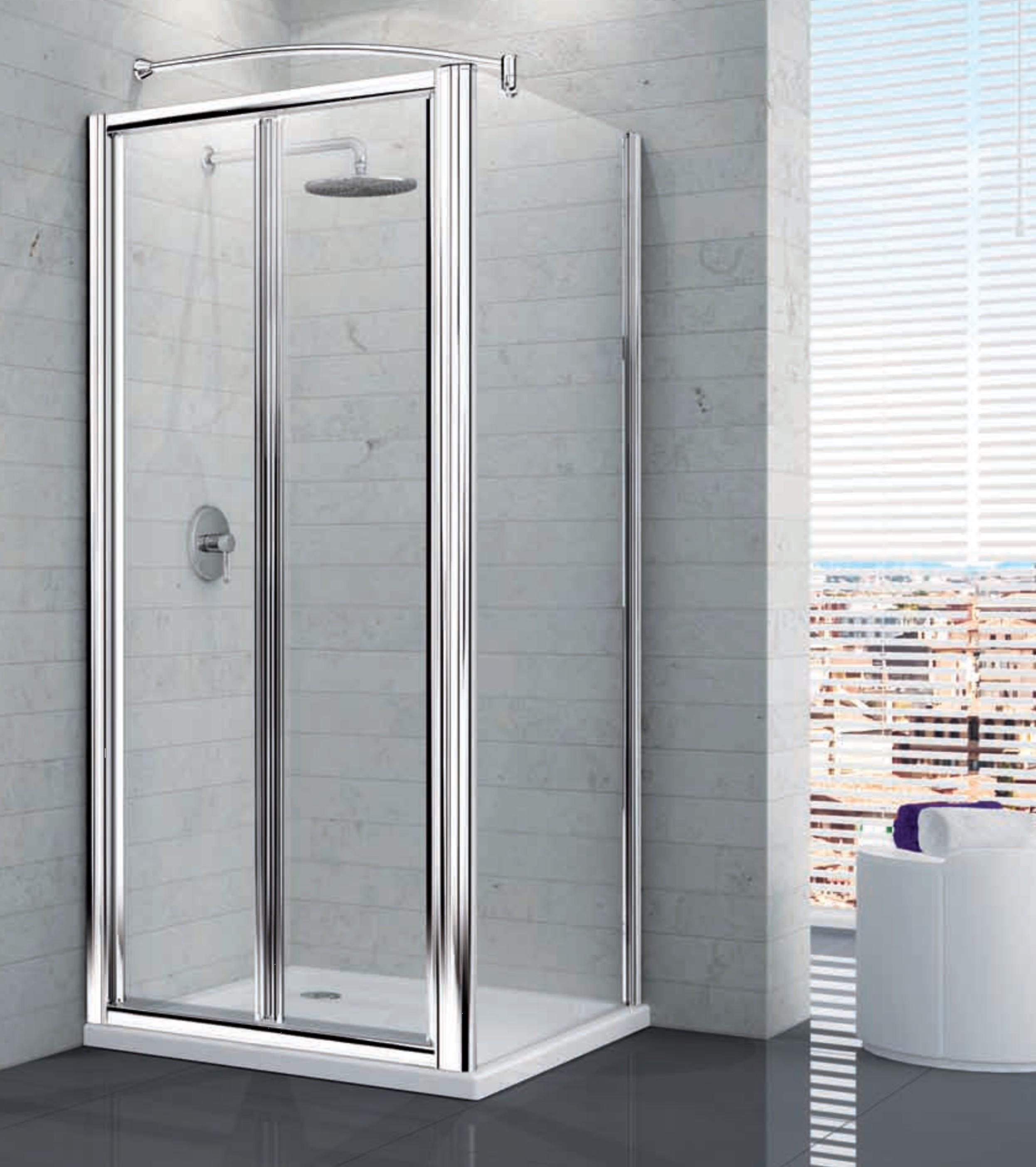 Box doccia mansarda idee creative di interni e mobili - Box doccia colorati ...